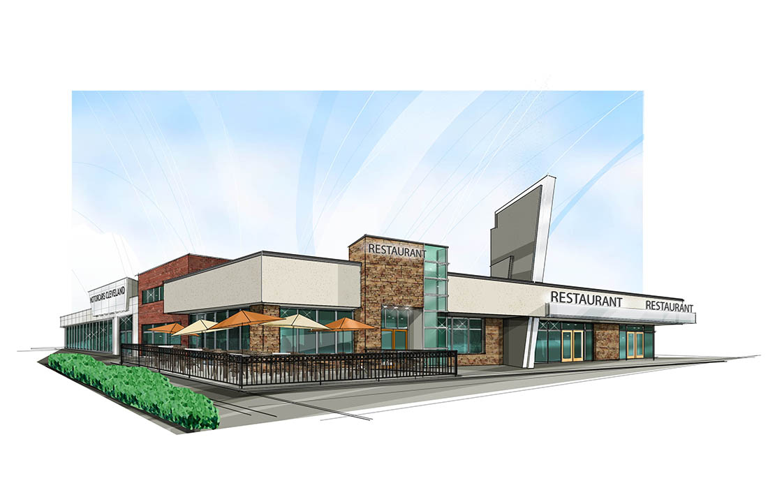 Arthur Pontiac Mixed Use Concept