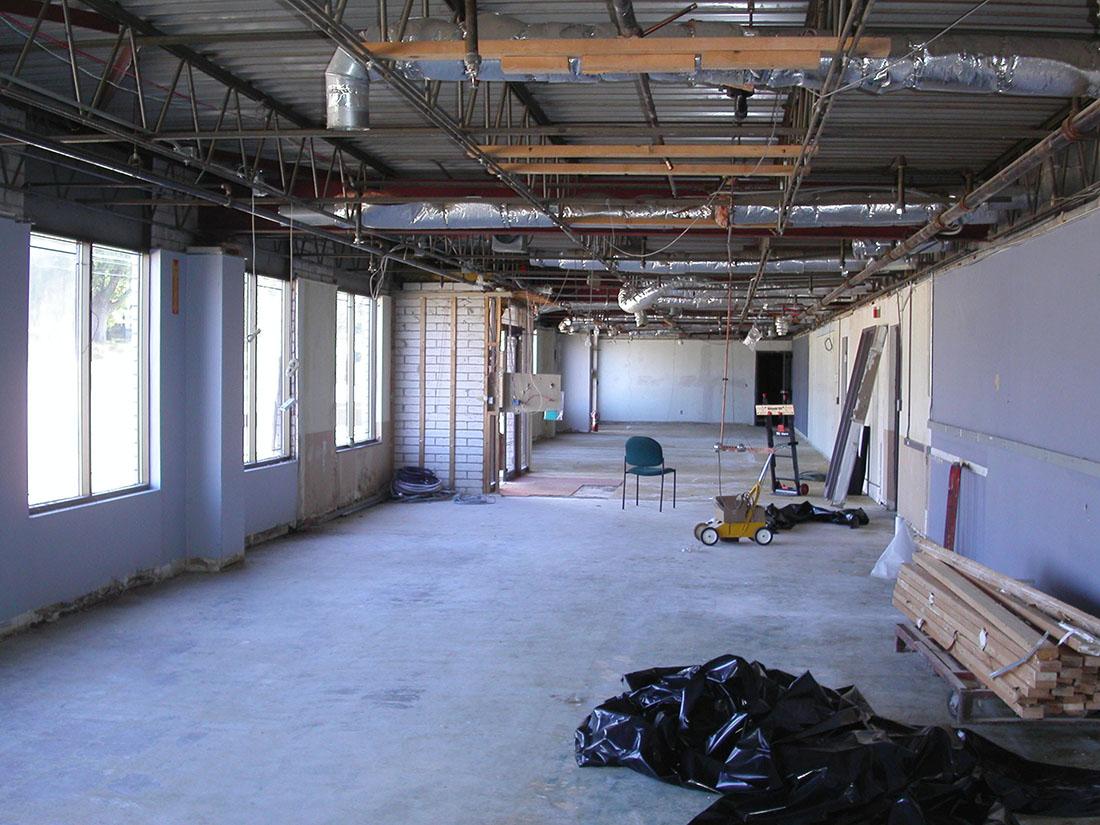Benchmark Prior to Renovation