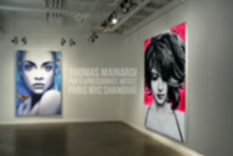 Thomas mainardiart contemporain pop expressionnisme galerie gallery streetart curator auction expo solo show