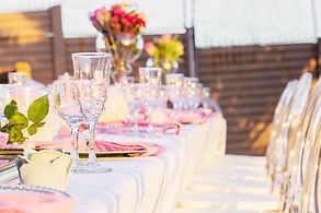 Events Table Set Up