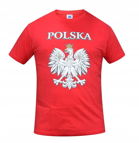 Red T-shirt With White Eagle