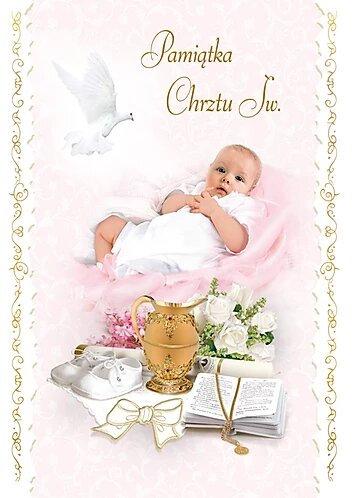 Holy Baptism Card B6