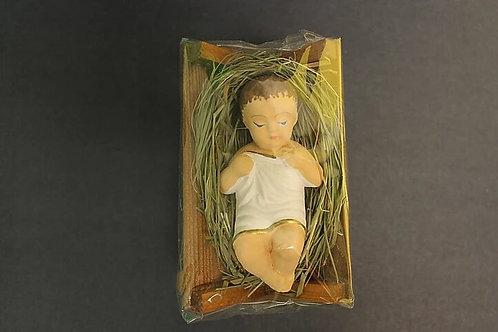 Baby Jesus Laying On Manger