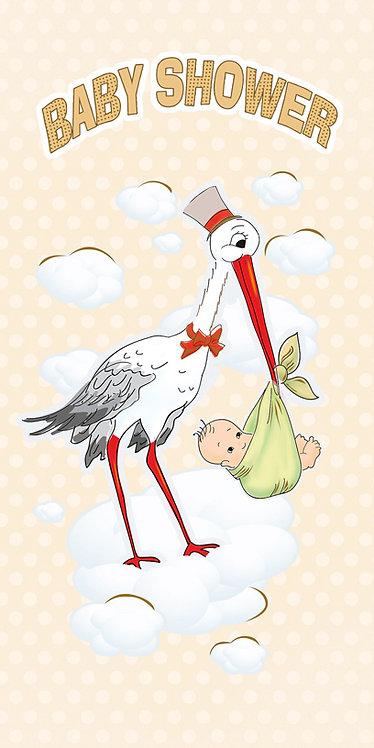 Baby Shower Card DL