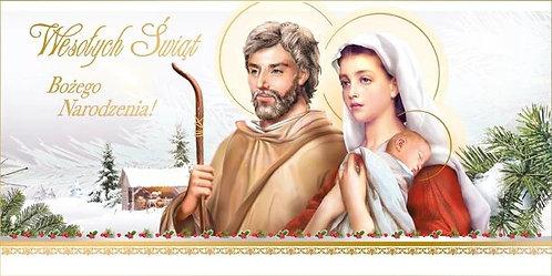 Kartka Na Boze Narodzenie Religijna DL