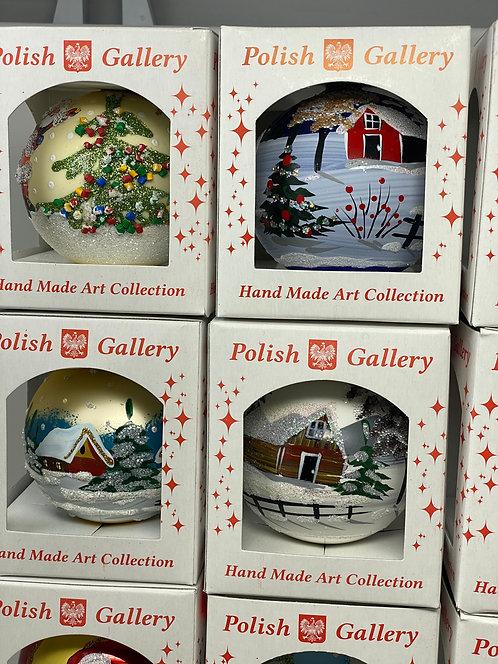 Polish Christmas Ornaments 3.14 in (80mm)