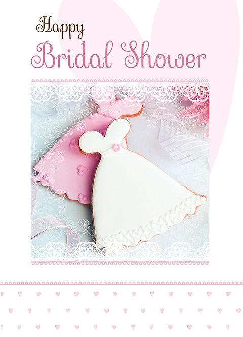 Happy Bridal Shower Card A5N