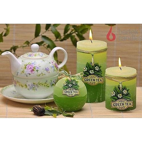 Rustic Green Tea