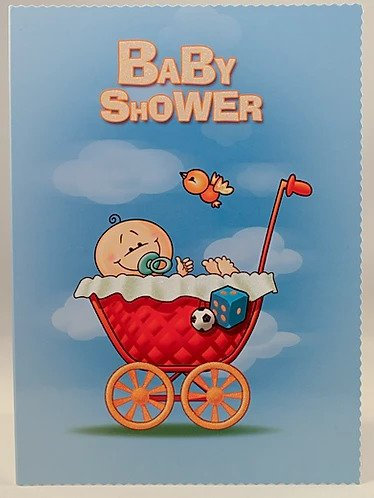Baby Shower Card B6