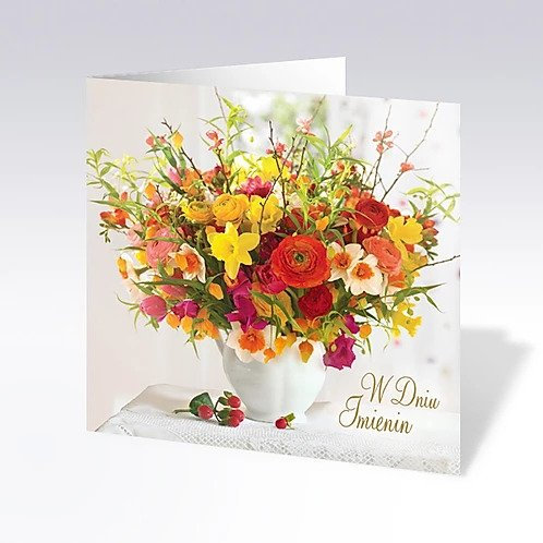 Quadro Happy Name Day Card