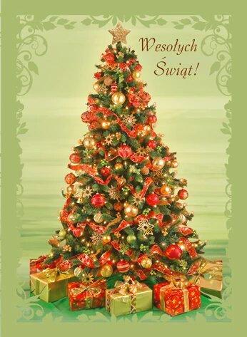 Kartka Na Boze Narodzenie Swiecka B6