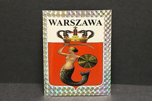 Naklejka Warszawa