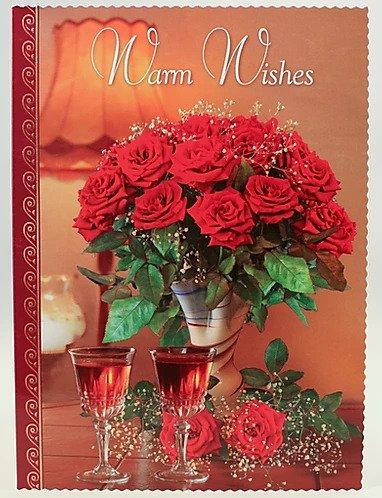 Warm Wishes Card B6