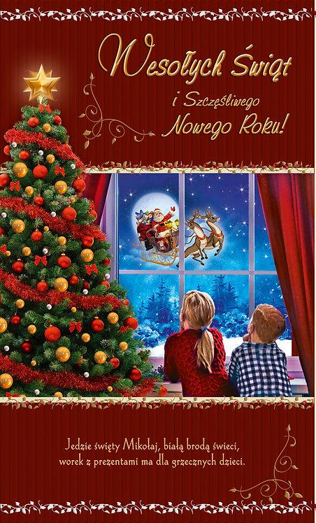 Kartka Na Boze Narodzenie Swiecka K2P