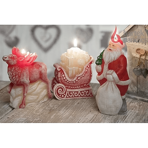 Reindeer Figure And Gifts
