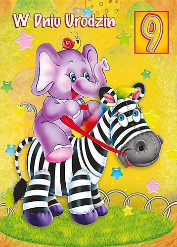 Birthday Card For Kid B6SC