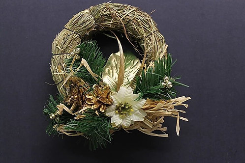 Hanging Hay Wreath