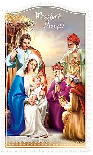 Kartka Na Boze Narodzenie Religijna K2