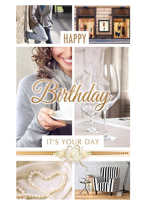 Kartka W Dniu Urodzin A5N