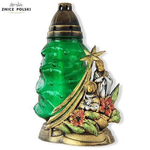 Christmas Catholic Candle