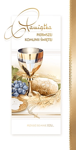 First Communion Card DL