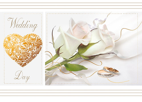 Wedding Day Card B6L