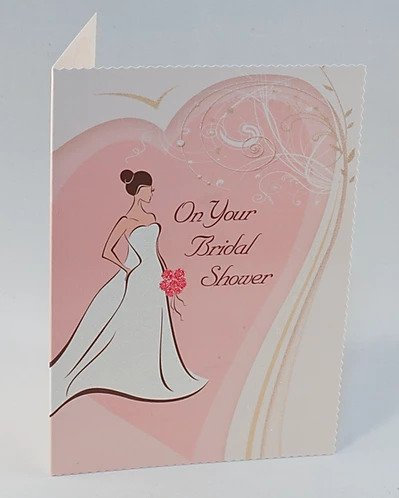 On Your Bridal Shower Card B6