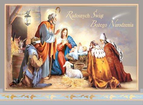 Kartka Na Boze Narodzenie Religijna B6