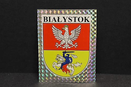 Naklejka Bialystok