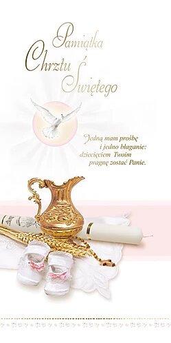 Holy Baptism Card DL