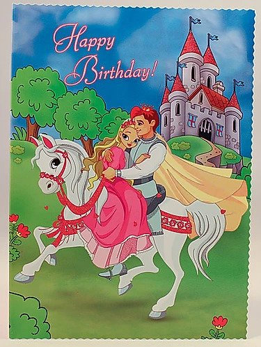 Happy Birthday Card B6