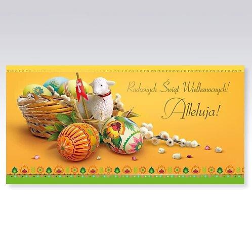 Secular Easter Card DL