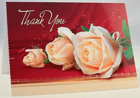 Thank You Card B6