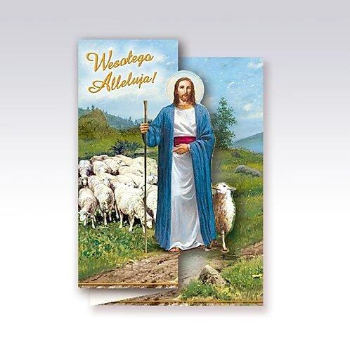 Kartka Wielkanocna Religijna B6W