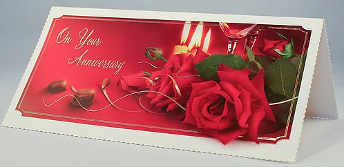On Your Anniversary Card DL