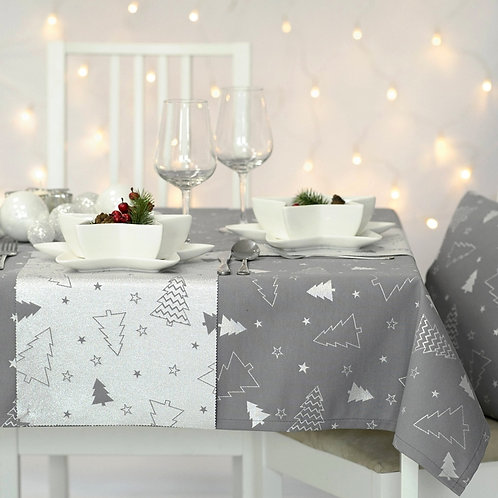 Stain-Resistant Tablecloth For Christmas