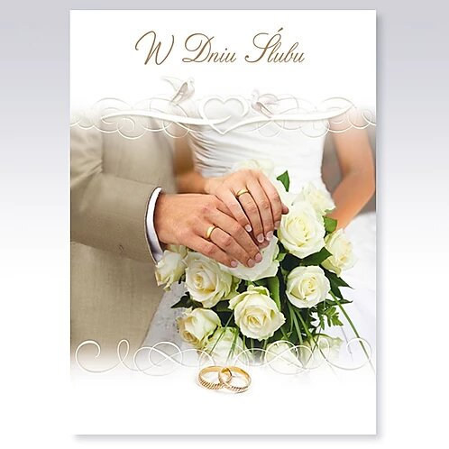Wedding Day Card B6