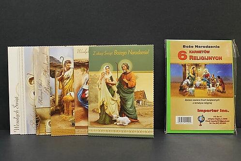 Set Kartek Na Boze Narodzenie