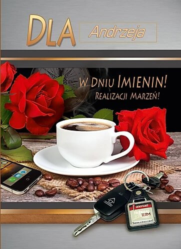 Name Day Card For Men A5SI