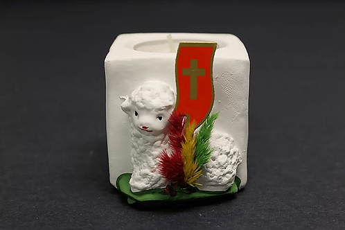 Easter Lamb Candle
