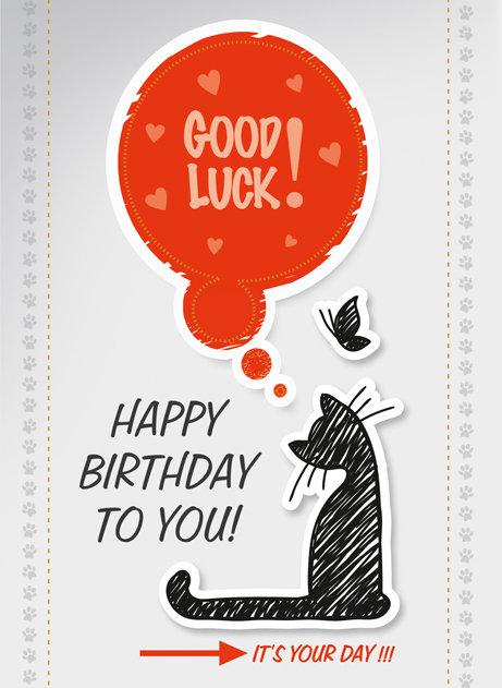 Kartka W Dniu Urodzin B6L