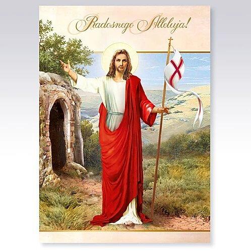 Religious Easter Card B6