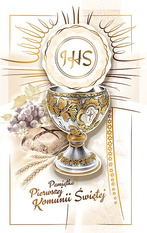 AB Card First Holy Communion