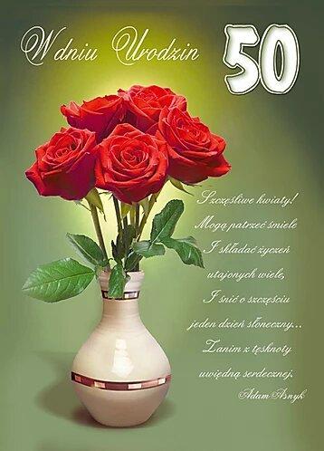 Kartka W Dniu Urodzin B6SC