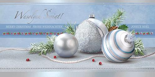 Kartka Na Boze Narodzenie Swiecka DL