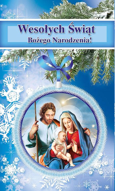 Kartka Na Boze Narodzenie Religijna K2P