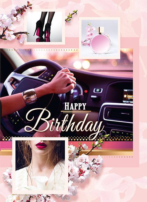 Happy Birthday Card A5N