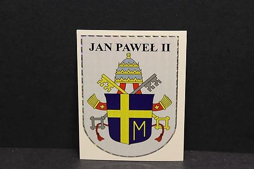 John Pope ll Sticker
