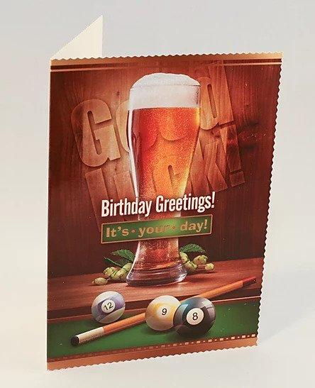 Happy Birthday Card B6