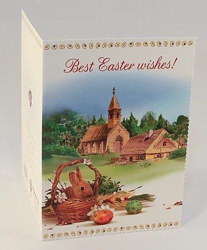 Kartka Wielkanocna Europejska B6